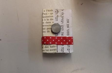 קופסת גפרורים מעוצבת וממוגנטת